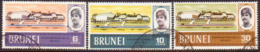 BRUNEI 1969 SG 175-77 Compl.set Used New Youth Centre - Brunei (...-1984)