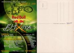 RED BULL - BMXTRA - Internationale Bike Vert Contest 13 Aout 2000- Boomerang - Publicité