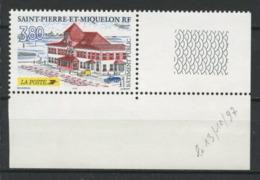 SPM MIQUELON 1997 N° 655 ** Neuf MNH Superbe C 1,70 € La Poste Bâtiment Public - Neufs