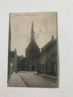 Izegem - Iseghem - De Kerk - Eglise Sacre Coeur - Ed. Van Moortel -  Gelopen 1906 - Izegem