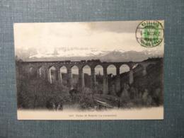 Viaduc De Rochette  Rochettaz( La Conversion) 1908 (6165) Dampflokomotive - Chemin De Fer - VD Vaud