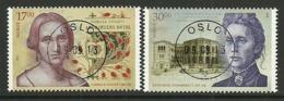 Norway 2013 Famous Women Central Cancel  Y.T. 1775/1776 (0) - Norwegen