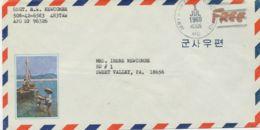 "USA / VIETNAM ""ARMY & AIR FORCES POSTAL SERVICE / APO / 96326"" Duplex-Stpl. U. Hs. ""Free"" - Air Mail"