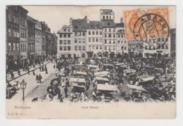 BB438 - POLOGNE - WARSZAWA - Stare Miasto - Belle Animation - Marché - 1907 - Polen