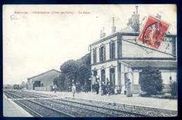 Cpa Du 22 Châtelaudren La Gare    LZ129 - Châtelaudren