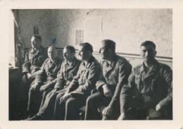 Photos - Originale - Photo Orig. Soldats Luftwaffe à Düdelsheim - 2GM - 9x6 Cm - Guerre, Militaire