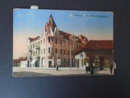TEMESVAR - TIMISOARA ROMANIA - FO UTCA ES NAGELEPALOTA - TRAVELLED 1917 - Romania