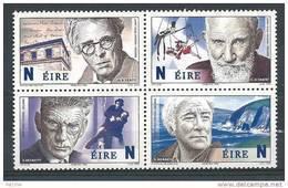Irlande 2004 N°1614/1617 Neufs ** Prix Nobel De Littérature - Neufs
