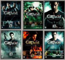 DVD Series Grimm (all Seasons) - DVD