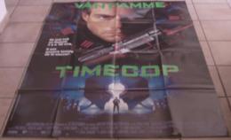 AFFICHE CINEMA ORIGINALE FILM TIMECOP Jean-Claude VAN DAMME Mia SARA Peter HYAMS 1994 TBE KARATE - Affiches & Posters