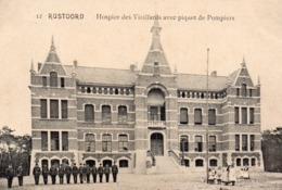 RUSTOORD : Hospice Des Vieillards Avec Piquet De Pompiers - Brasschaat