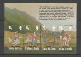 Tristan Da Cunha 1984 Wool Production S/S  Y.T. BF 16 ** - Tristan Da Cunha