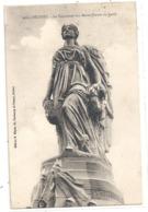 449. BELFORT - LE MONUMENT AUX MORTS ( Partie Du Haut ) . CARTE AFFR AU VERSO LE 24-8-1925 . 2 SCANES - Belfort - Ville