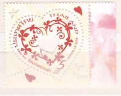 Thailand 2014, Postfris MNH, Symbol Of Love - Thaïlande