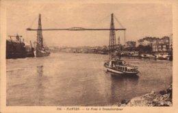 Dep 44 , Cpa NANTES , Le Pont à Transbordeur , 184 (2587) - Nantes