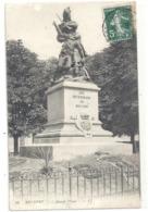 """21. BELFORT . """"  QUAND MEME  """" . CARTE AFFR SUR RECTO LE 9-7-1908 - Belfort – Le Lion"""