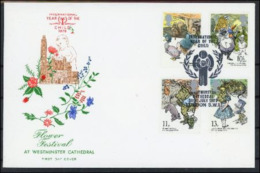 Grande Bretagne 1979 IYC AIE FDC Flower Festival AT WESTMINSTER CATHEDRAL - Autres