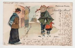 BB443 - Jolie Illustration COUPLE Sous La Pluie - Raphael TUCK & Sons Popular Plays N° 1272 - THACKERAY - Tuck, Raphael