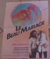 AFFICHE ORIGINALE CINEMA FILM LE BEAU MARIAGE Eric ROHMER DOMBASLE DUSSOLLIER 1982 TBE Yves PRINCE - Affiches & Posters