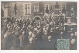 ° 72 ° BONNETABLE ° Funérailles De M. Le Vicomte De La Rochefoucauld Le 28 Février 1907 ° CARTE PHOTO ° - Bonnetable