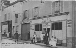 77 CPA JOUY SUR MORIN HOTEL SAINT ELOI MAISON BABILLON - Autres Communes