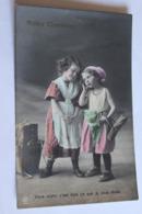 Lot De 2 Cartes PETITES COMMERES  Enfants Petites Filles - Cartes Humoristiques