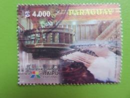 Timbre Paraguay - Année 2004 - N° YT 2918 - 30ème Anniversaire D'Itaipu Binacional - Barrage D'Itaipu - Paraguay