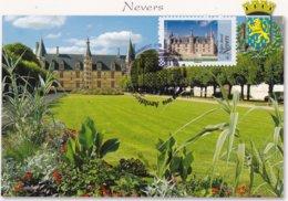 CARTE MAXIMUM: FRANCE:Architecture De La  Renaissance En France : Palais De NEVERS: 1er Jour 27 Mars 2015 (neuve) - Maximumkarten