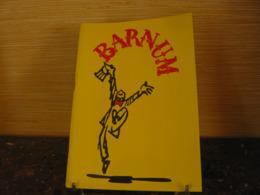 1981 - CIRQUE BARNUM Retracé Par Yves MOUROUSI - Programme