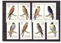 XX2837  -  POLONIA   /   CAT.  Y&T.  NR.  2191/2198  SERIE COMPLETA NUOVA** MNH - Birds