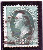 B - 1870 Stati Uniti - George Washington - Used Stamps