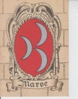 MAROC  -  BLASON  -  Ed BARRE & DAYEZ  - - Morocco