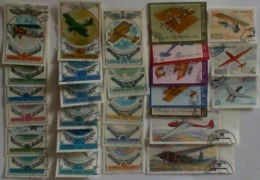 USSR 1976-1982 Earli Aviation Used Stamps - 1923-1991 USSR
