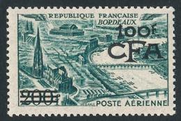 REUNION 1951 - Yv. PA 49 (=FR PA 25 + Surch) *   Cote= 85,00 EUR - Bordeaux  ..Réf.FRA29072 - Réunion (1852-1975)