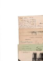 TIMBRE TYPE SEMEUSE CAMEE....40c.....VOIR DETAIL...LOT DE 48 SUR CPA.....VOIR SCAN......LOT 54 - 1906-38 Semeuse Camée