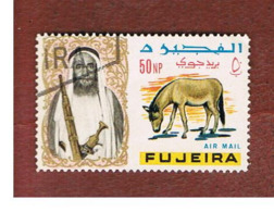 FUJEIRA -  SG 42 -  1965   ANIMALS: ONAGER      - USED ° - Fujeira