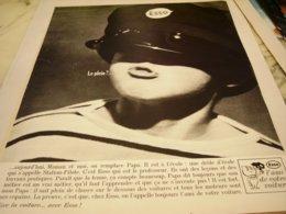 ANCIENNE PUBLICITE LE PLEIN  ESSO 1964 - Other