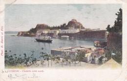 2416138Corfou, Citadelle (côté Nord)(see Corners-little Tear Bottom) - Grecia