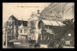 06 - NICE - PROMENADE DES ANGLAIS - RESTAURANT FRANCAIS - CARTE TOILEE - Nizza