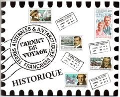 TAAF - Carnet De Voyage 2005 - Historique - Neuf Luxe - Complet - Terres Australes Et Antarctiques Françaises (TAAF)
