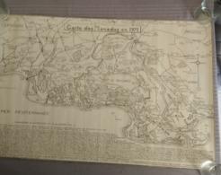 Carte Des Manades En 1971 - Cartes Topographiques