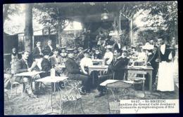 Cpa Du 22  St Brieuc Jardins Du Grand Café Jouhaux , Concerts Symphoniques D' été  LZ130 - Saint-Brieuc