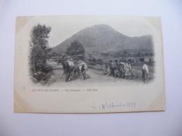 A468. CPA. 63 .LE PUY-DE-DOME. Vue Générale. (Puy-de-Dome). Beau Plan Animé  .écrite & Voyagée 1899 - Otros Municipios
