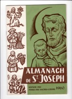 ALMANACH De St JOSEPH Louvain Leuven 1960 - Books, Magazines, Comics