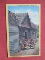 Indian  Basket Makers  Cherokee NC        Ref 3636 - Hunting