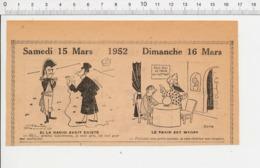 2 Scans Humour Mandat D'arrêt Chien Saint-Bernard Chiot Allaitement Lait Chiot Rhum Général Cambronne Voyance Fakir226ZV - Old Paper