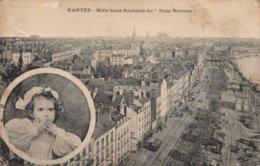 Dep 44 , Cpa NANTES , Mile Bons Souhaits Du Pays Nantais (2599) - Nantes