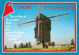 51 La Bataille De Valmy Avec Moulin (2 Scans) - Otros Municipios