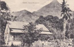 Océanie Tahiti Station Missionnaire En 1913 - Tahiti