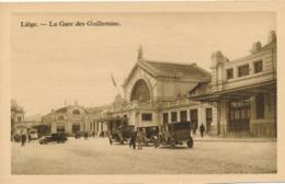 CPA - Belgique - Liege - La Gare Des Guillemins - Liege